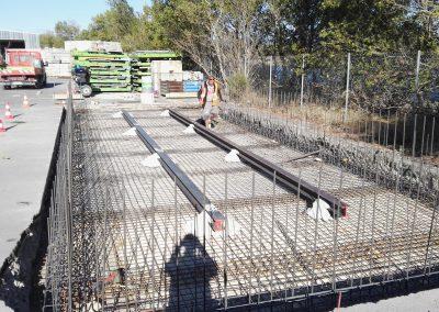 Construction d'un rack à matériaux