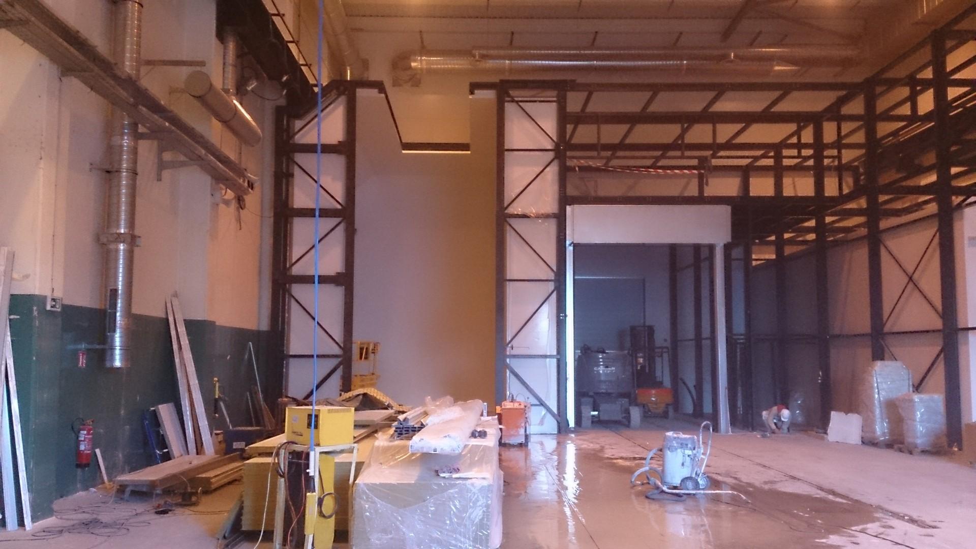 Ouverture et fermeture de voile béton et protection cablage et flexibleOuverture et fermeture de voile béton et protection cablage et flexible005