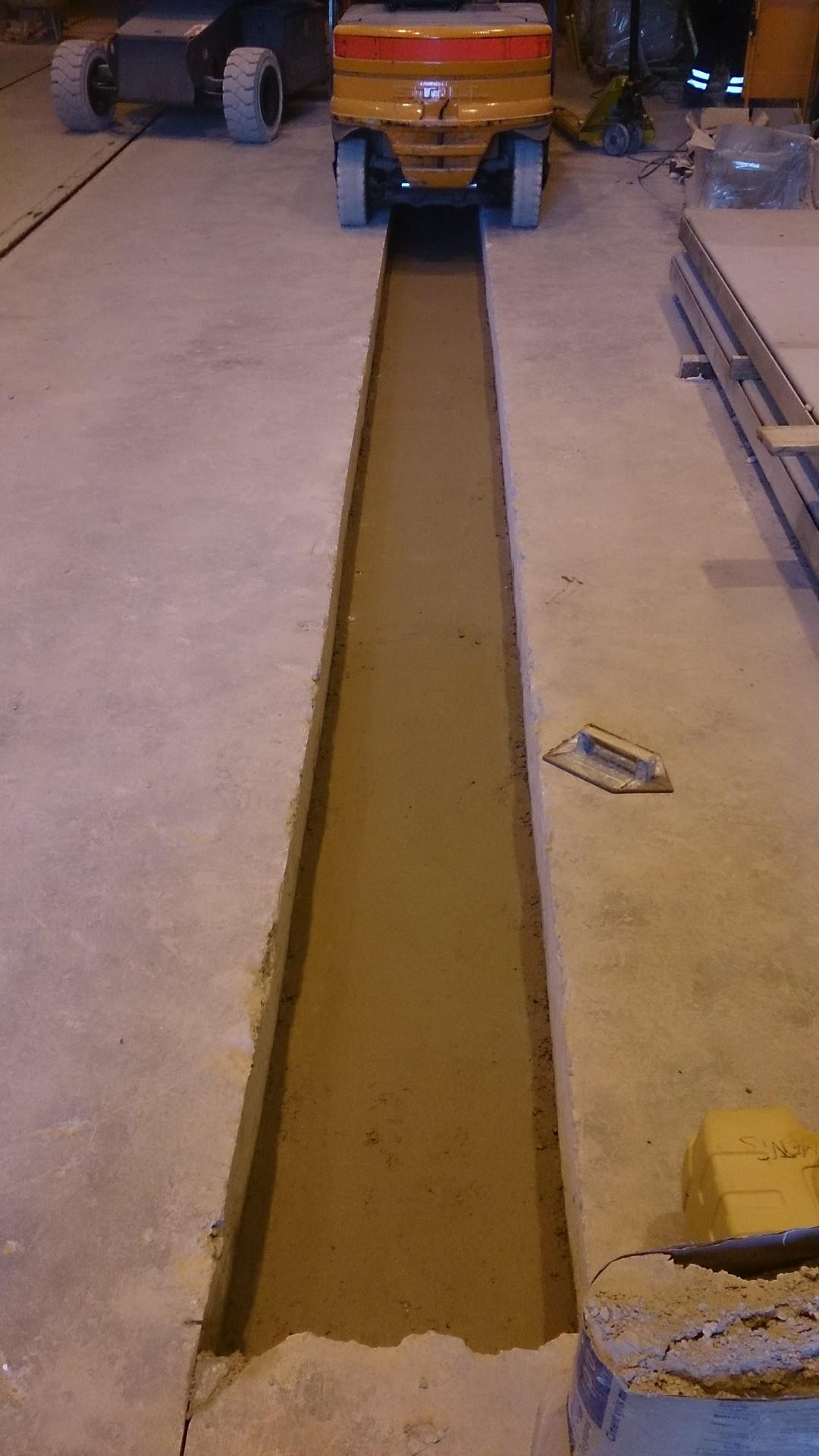 Ouverture et fermeture de voile béton et protection cablage et flexibleOuverture et fermeture de voile béton et protection cablage et flexible011